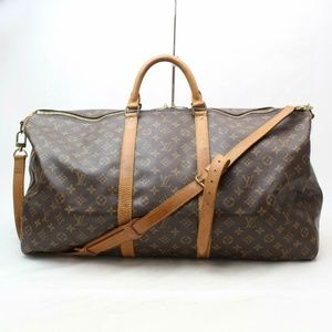 Auth Louis Vuitton Keepall Bandouliere #1763L35